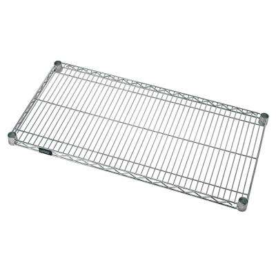 21 in. W x 36 in. L Stainless Steel One Industrial Shelf