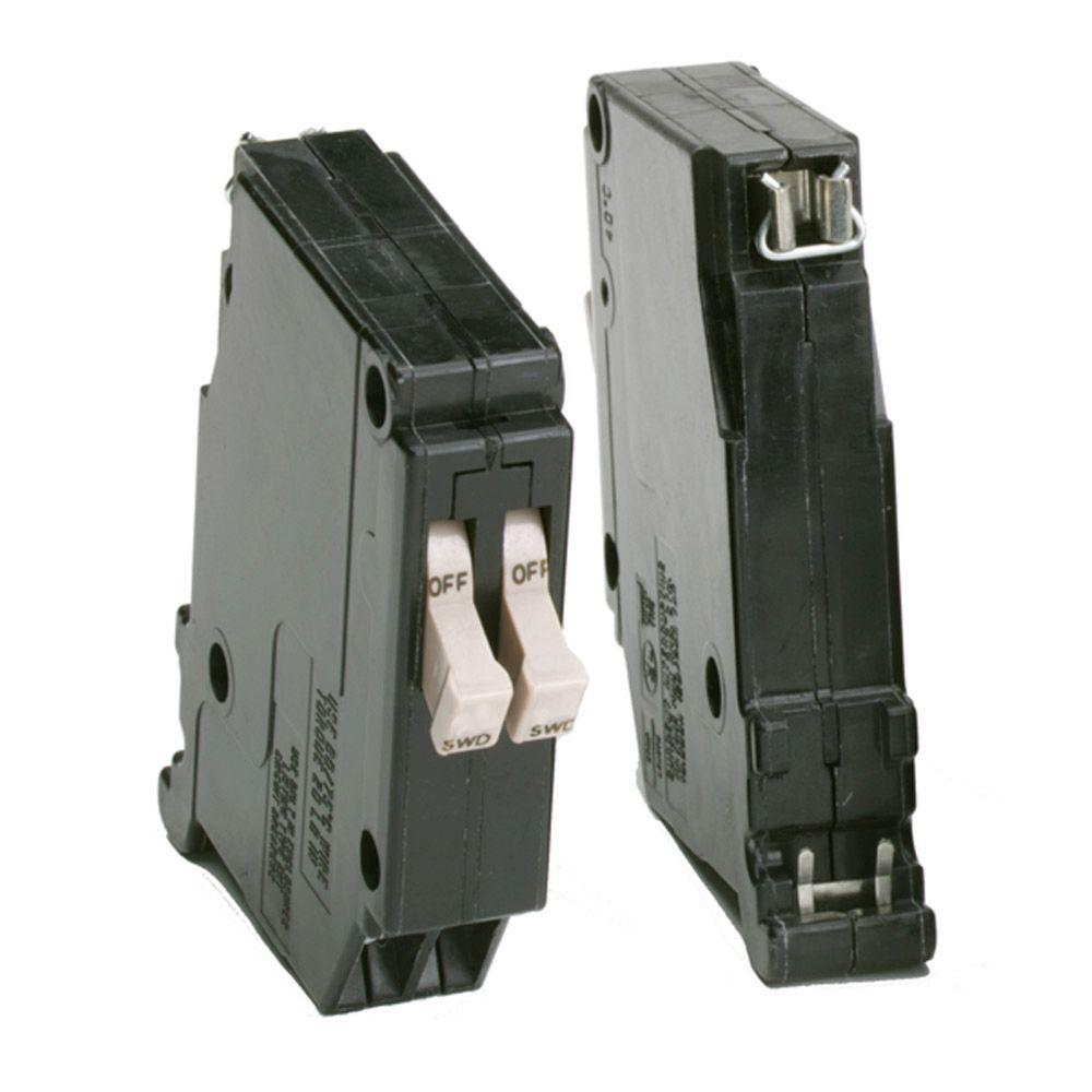 Eaton 15 Amp 3 4 In Duplex Double Pole Type Ch Non Current Limiting Circuit