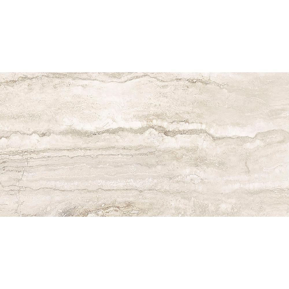 a2f10e43e88fff MSI Pietra Bernini Bianco 12 in. x 24 in. Polished Porcelain Floor and Wall