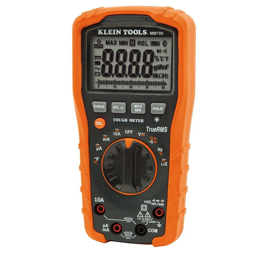 Electrical Testers Tools The Home Depot Auto Wiring Tester True Rms Ranging Digital Multimeter