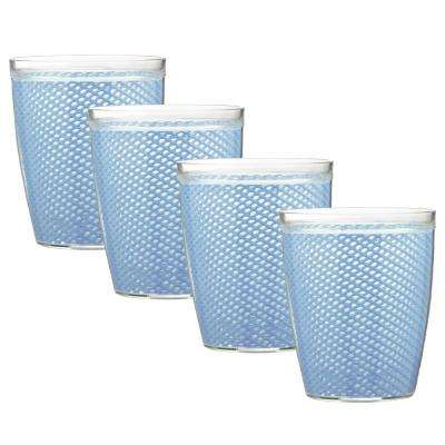 Fishnet 14 oz. Serenity Insulated Drinkware (Set of 4)