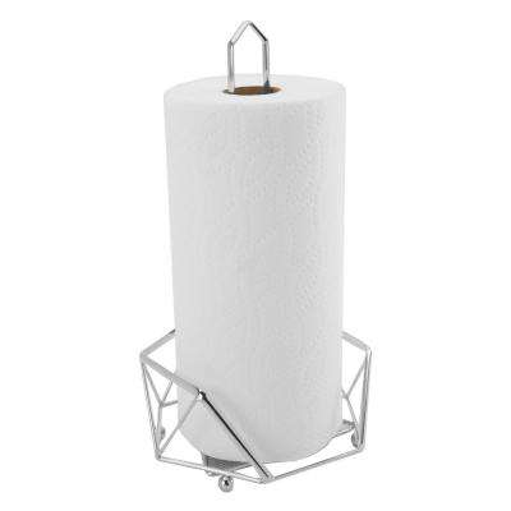 Geode Chrome Paper Towel Holder