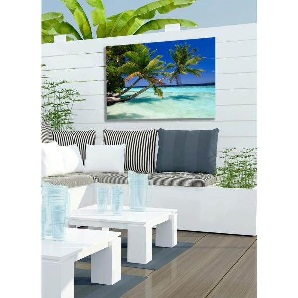 30 In X 40 In Palms Duo Outdoor Canvas Art