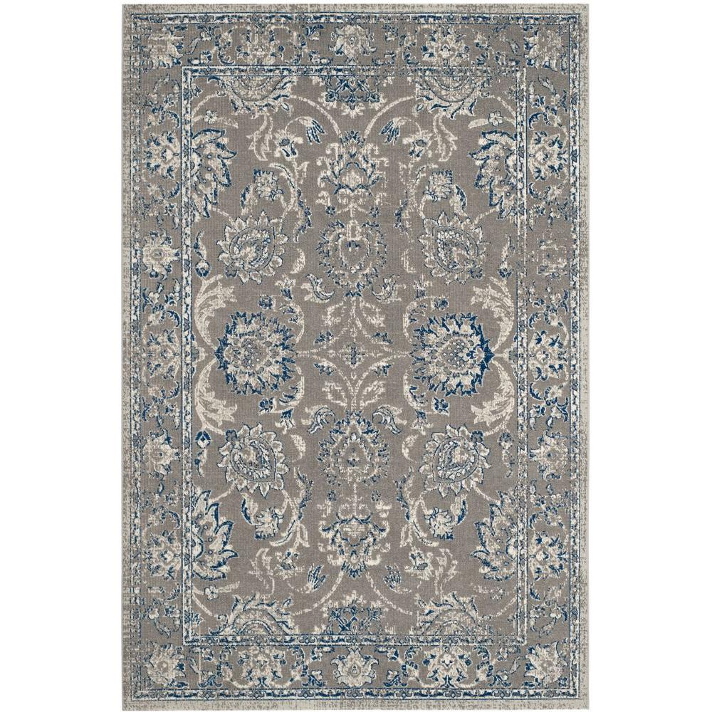 Safavieh Patina Taupe Blue 5 Ft 1 In X 7 Ft 6 In Area