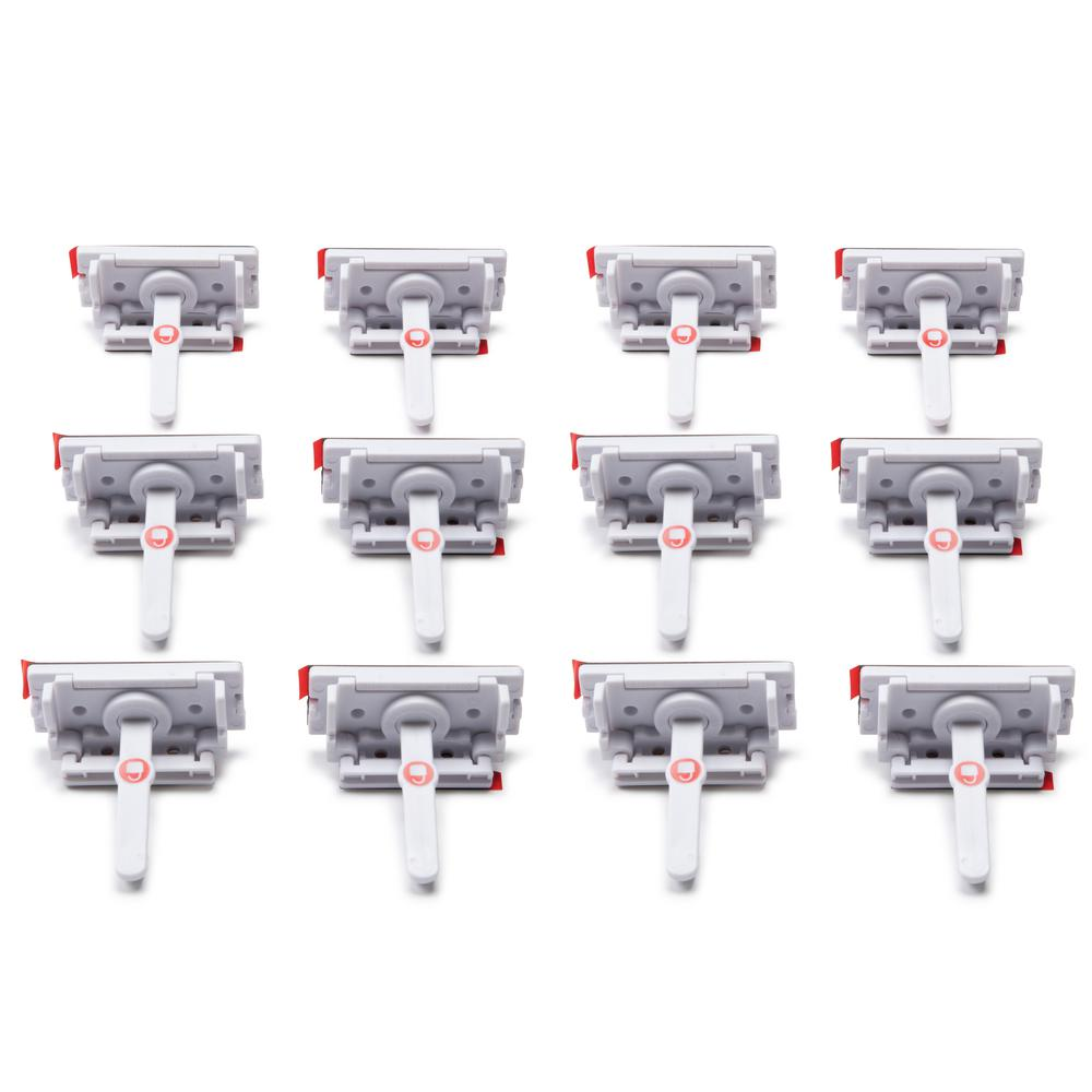 Safety 1st Adhesive Locks and Latches (12-Pack)