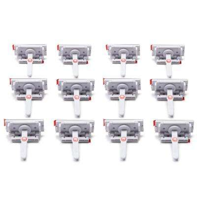 Adhesive Locks and Latches (12-Pack)