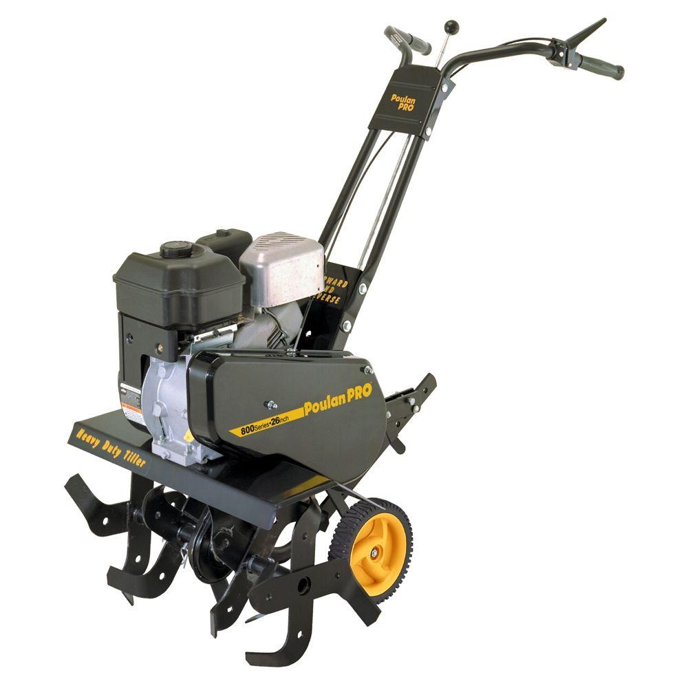 Poulan 26 in. 205cc 4-Cycle Gas Powered Front Tine Forward-Rotating Tiller-DISCONTINUED