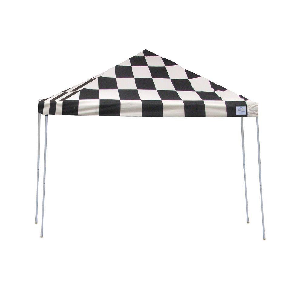This review is fromPro Series 12 ft. x 12 ft. Checkered Flag Straight Leg Pop-Up Canopy  sc 1 st  The Home Depot & ShelterLogic Pro Series 12 ft. x 12 ft. Black Straight Leg Pop-Up ...