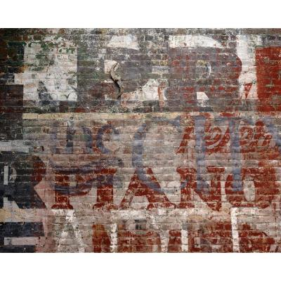 Warehouse Brick Wall Mural