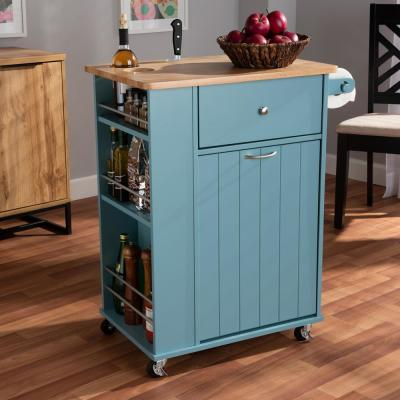 Baxton Studio Kitchen Carts Carts Utility Tables The Home Depot