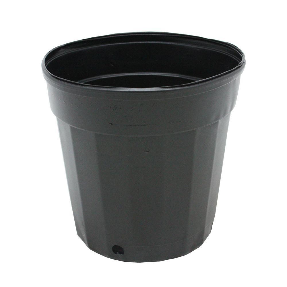 Hydroponics Organic 2 Gal. Plastic Nursery Pots (7.57 l) 20-Pack