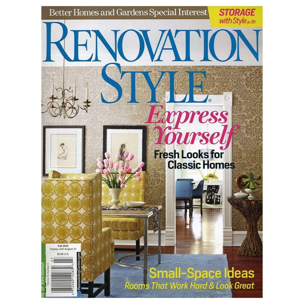 Better Homes And Gardens Renovation Style Magazine