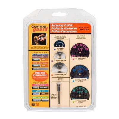 ProPak Rotary Tool (Dremel Type) Accessory Kit (7-Piece)