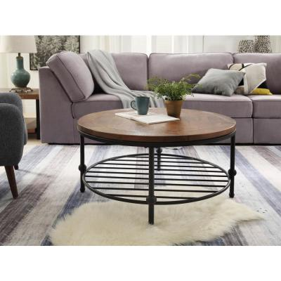 Round Farmhouse Coffee Tables Accent Tables The Home Depot