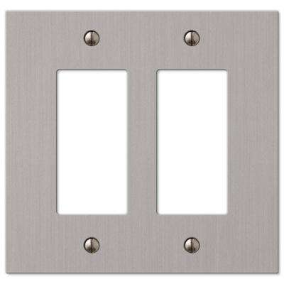 Elan 2 Decorator Wall Plate - Brushed Nickel