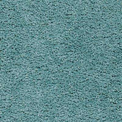 Gypsy - Color Aqua Twist 13 ft. Carpet