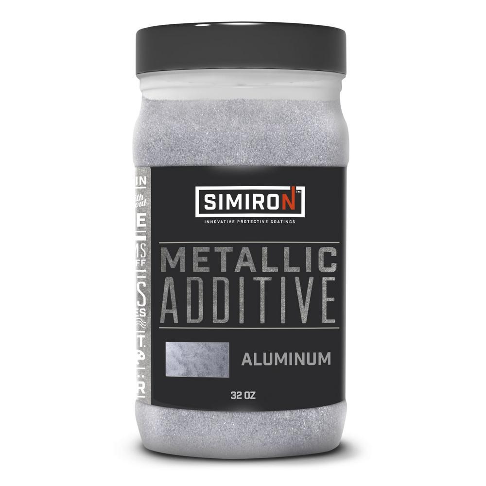 32 oz. Aluminum Metallic Paint and Epoxy Additive for 3 Gal. Mix