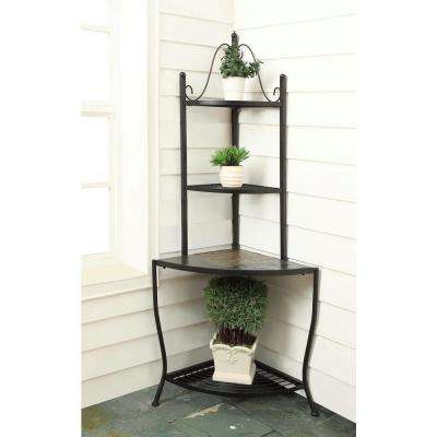 Black Slate Baker's Rack