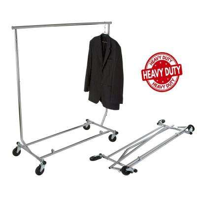 Heavy Duty Collapsible Clothes Rack (48 in. W x 55 in. H)