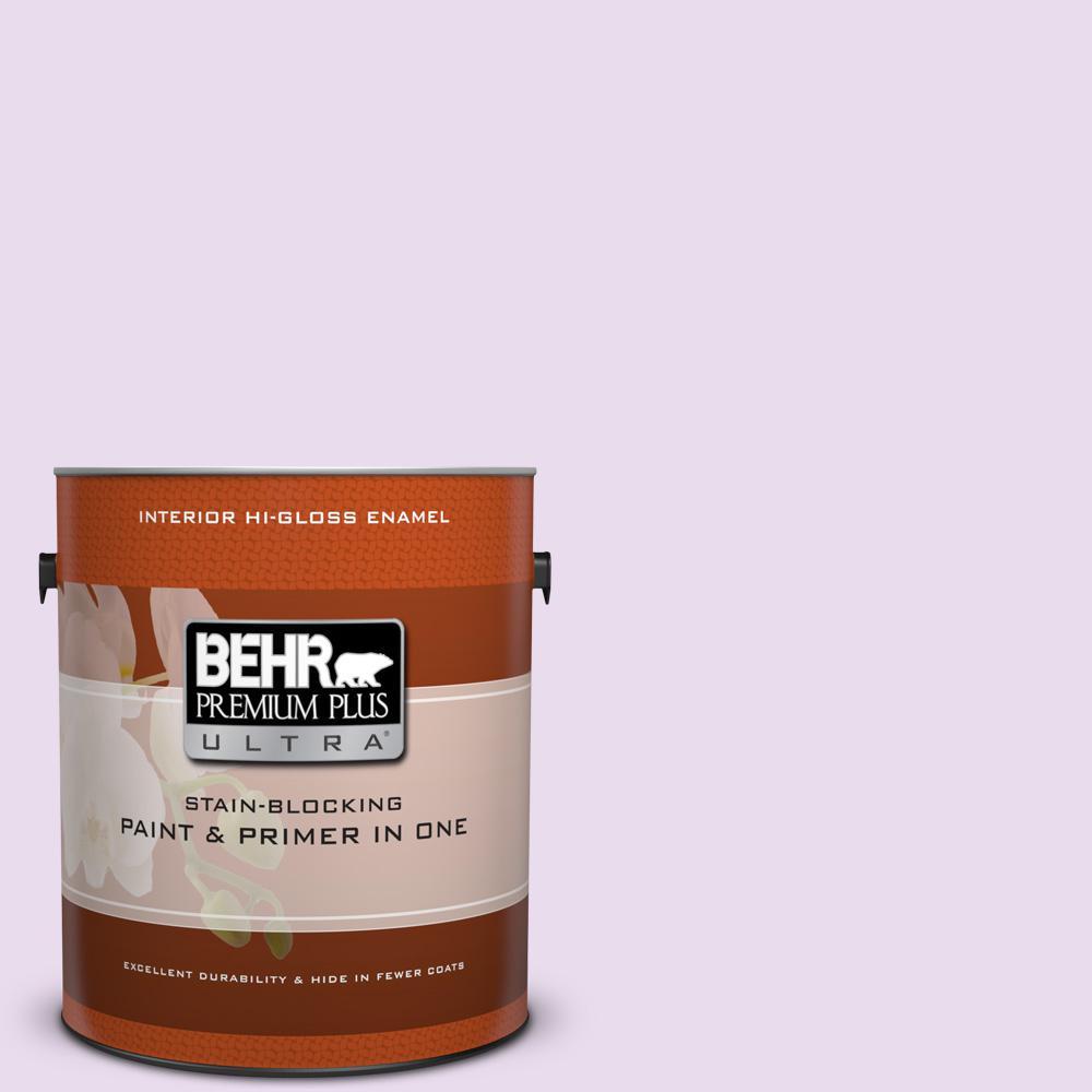 1 gal. #P100-1 Sprinkle Hi-Gloss Enamel Interior Paint