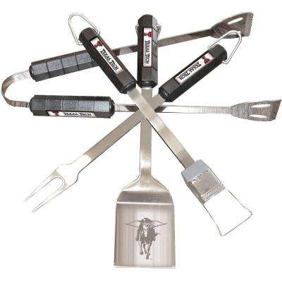 NCAA Texas Tech Red Raiders 4-Piece Grill Tool Set