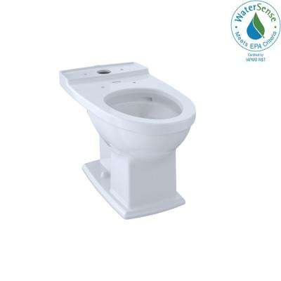 Connelly Elongated Toilet Bowl Only with CeFiONtect in Cotton White