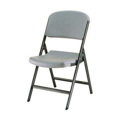 Putty Metal Outdoor Safe Folding Chair (Set of 4)