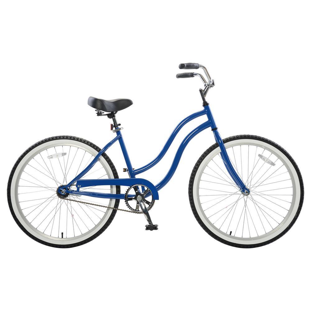 26 in. Wheels 18 in. Frame Women's Bike in Blue