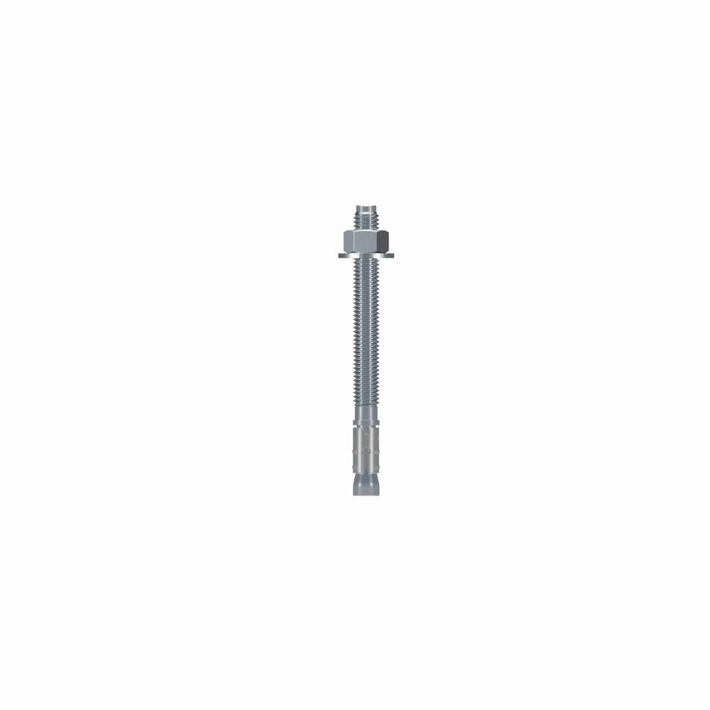 Strong-Bolt 1/2 in. x 5-1/2 in. Zinc-Plated Wedge Anchor (25-Pack)