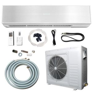ramsond 24 000 btu 2 ton ductless mini split air. Black Bedroom Furniture Sets. Home Design Ideas