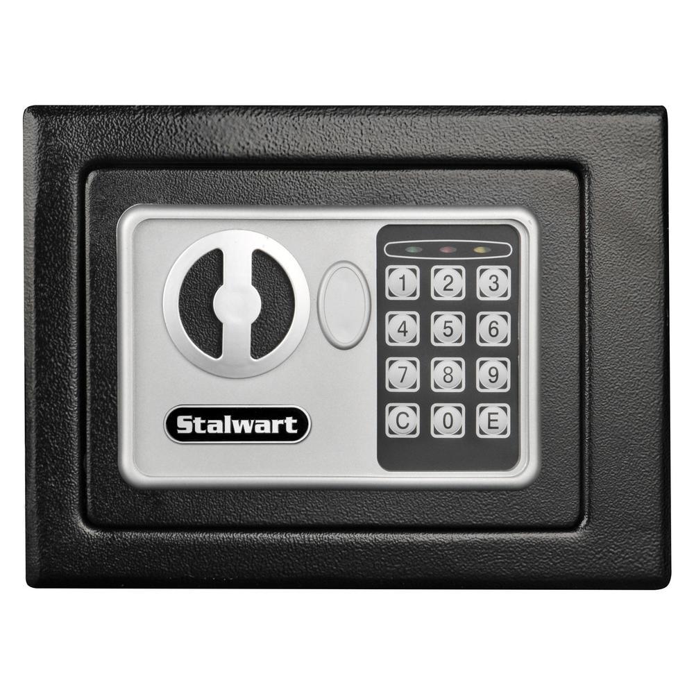 0.22 cu. ft. Steel Floor Safe with Digital Lock
