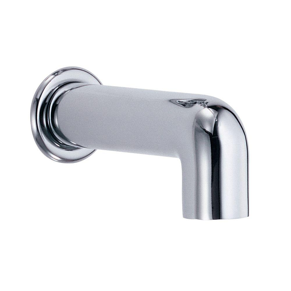Danze Parma 6-1/2 in. Wall Mount Tub Spout in Chrome-D606558 - The ...
