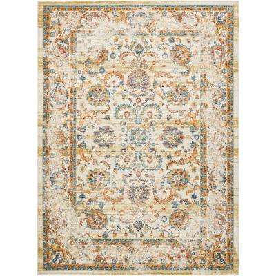 Delmar Cream 10 ft. x 13 ft. Area Rug