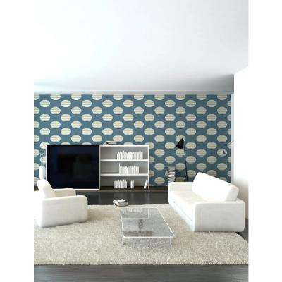 Art in Chaos Collection Paper Lanterns in Evening Removable and Repositionable Wallpaper