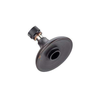 Half Dome 1-Spray 3.25 in. Fixed Round High Pressure Premium Showerhead with All Metal Construction in Oil Rubbed Bronze