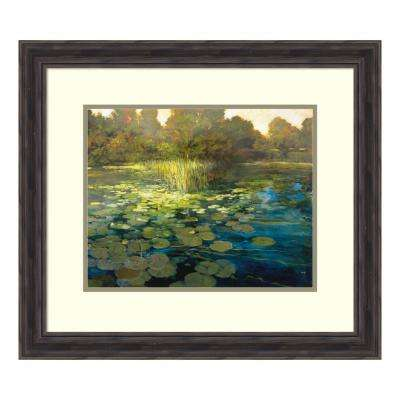 """Waterlilies"" by Philip Craig Framed Wall Art"