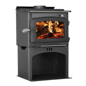 Vogelzang Defender 1,200 sq. ft. Wood Stove with Storage by Wood Stoves