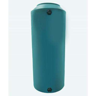300 Gal. Green Vertical Water Storage Tank