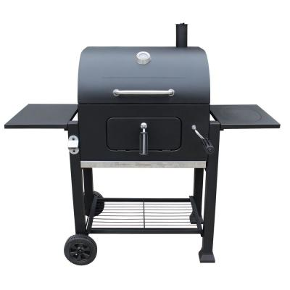 Vista Charcoal Grill in Black