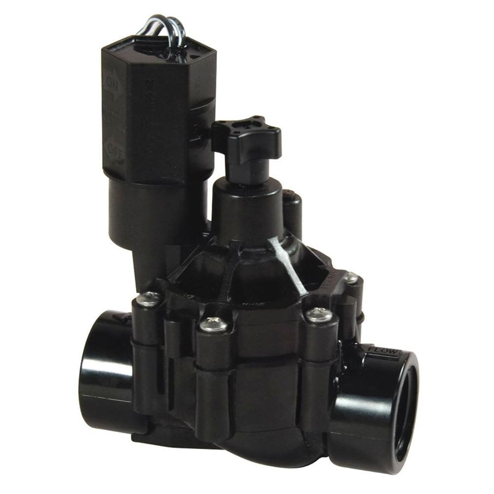 In-Line Sprinkler Valve with Flow Control