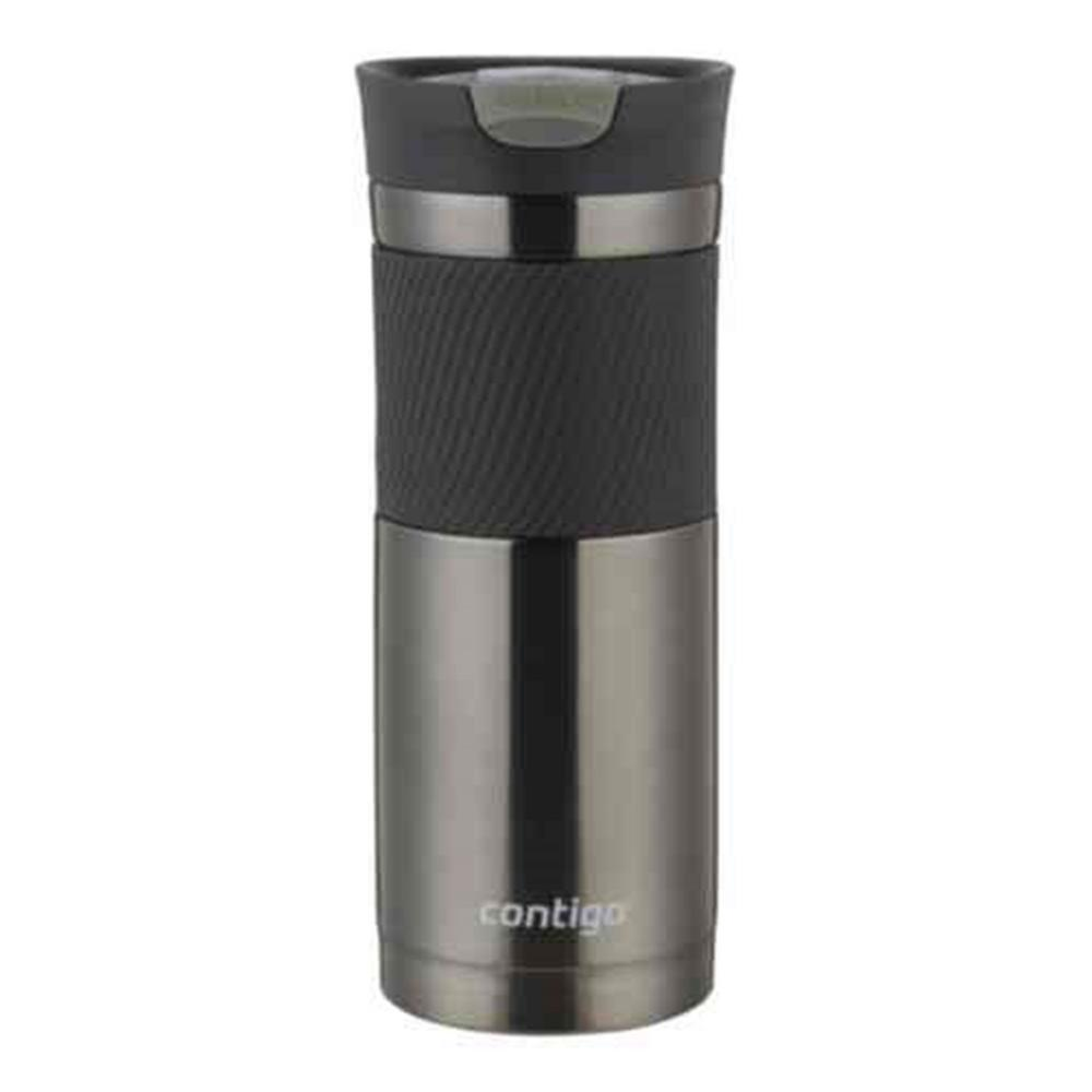 contigo 20 oz byron snap seal vacuum insulated gunmetal stainless steel travel mug ssh100b01. Black Bedroom Furniture Sets. Home Design Ideas