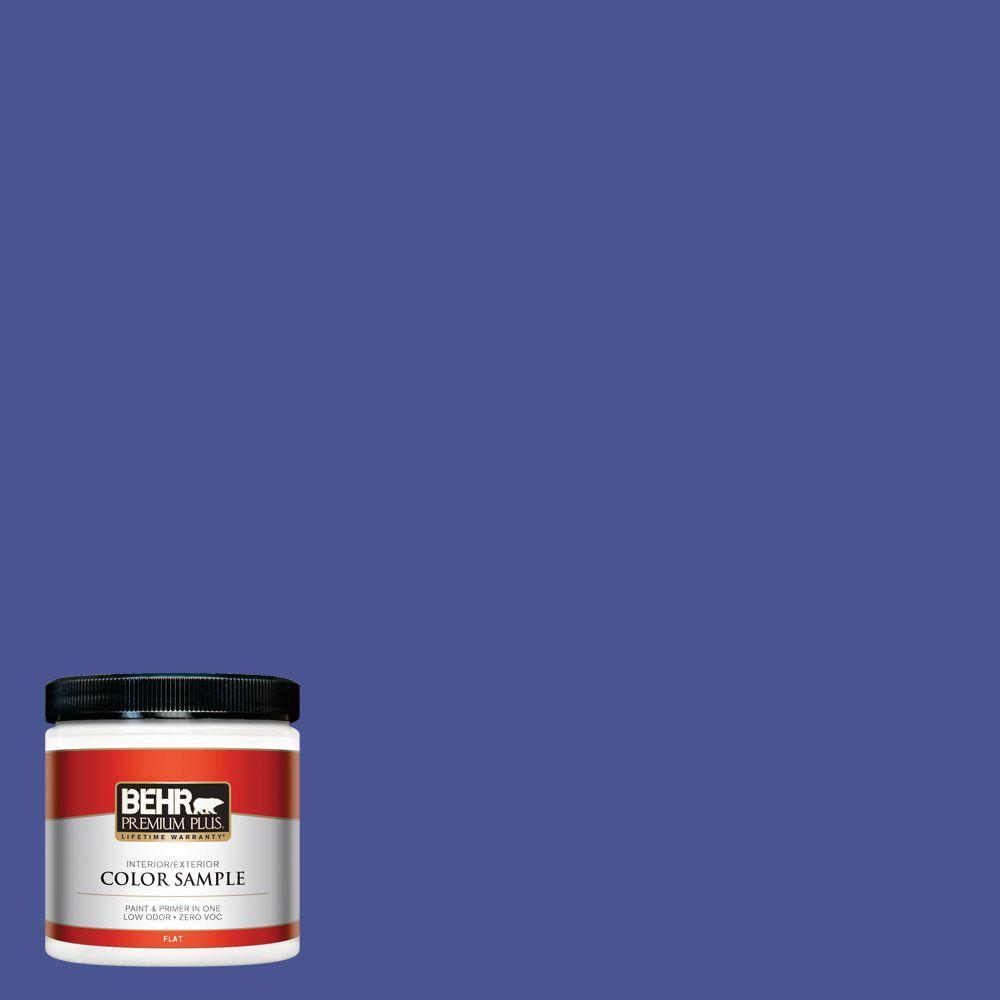8 oz. #P540-7 Canyon Iris Interior/Exterior Paint Sample