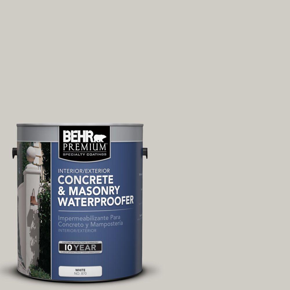 BEHR Premium 1 gal. #BW-27 Silt Concrete and Masonry Waterproofer