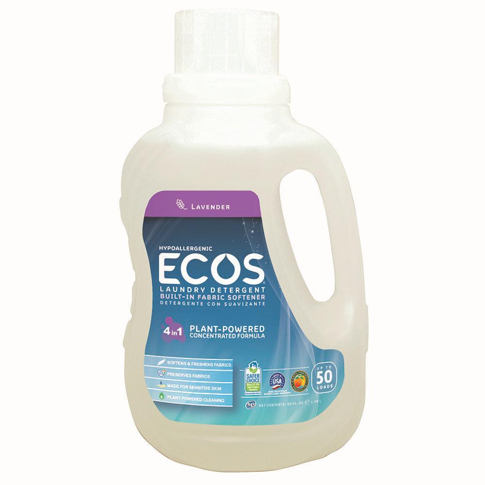 ECOS 50 oz. Lavender Scented Liquid Laundry Detergent