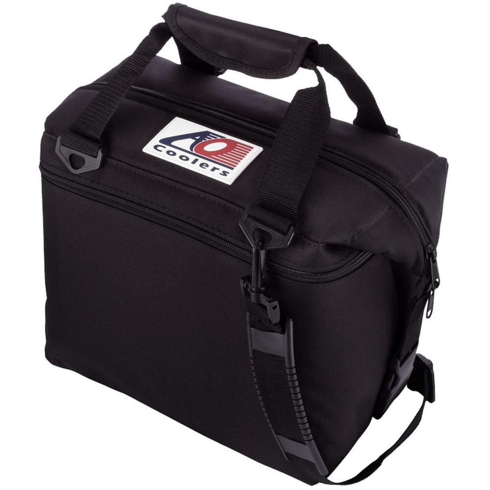 12 qt. Soft Canvas Cooler with Shoulder Strap and Wide Outside Pocket
