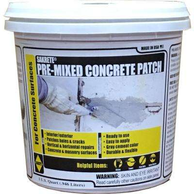 1 Qt. Pre-Mixed Concrete Repair Patch