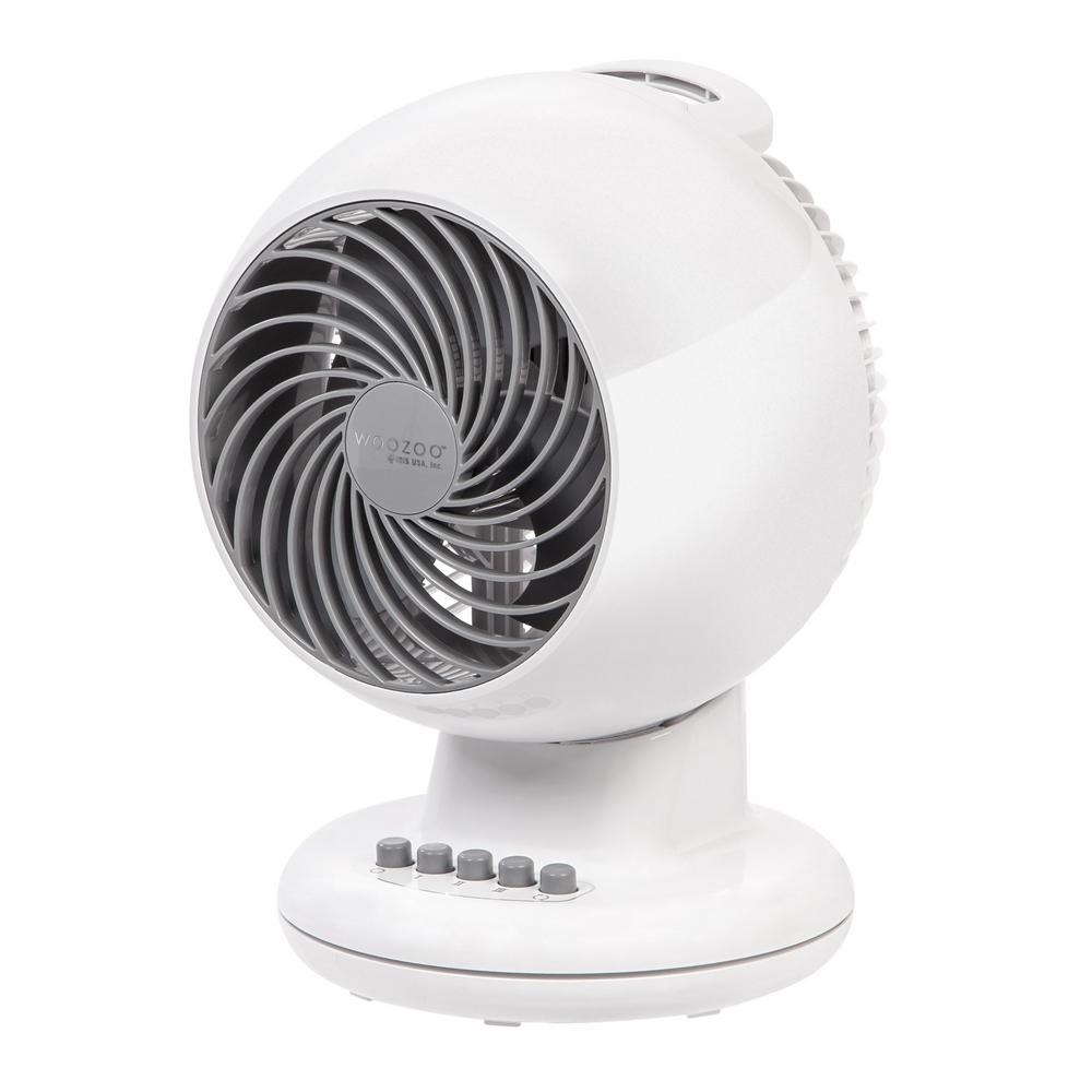 7 in. 3-Speed Oscillating Personal Fan