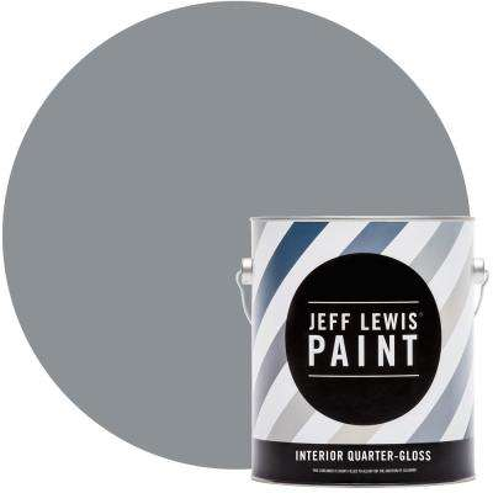 1 gal. #419 Foil Quarter-Gloss Interior Paint