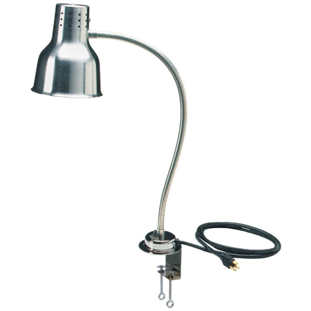 null 24 in. Heat Lamp Flx Arm with Aluminum Clamp