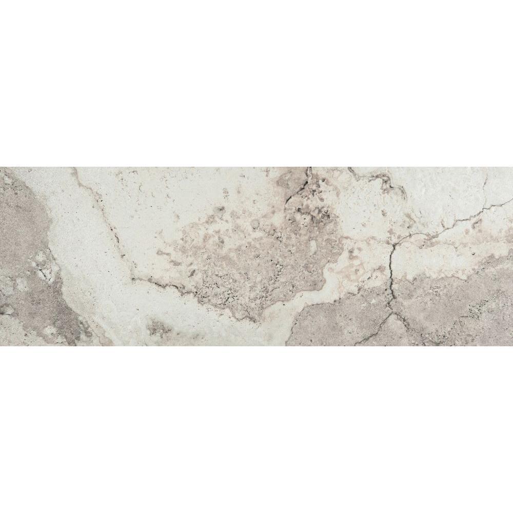 Emser Primavera Blossom 3 in. x 13 in. Single Bullnose Porcelain Floor and Wall Tile